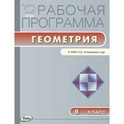Рабочая программа по геометрии. 8 кл.