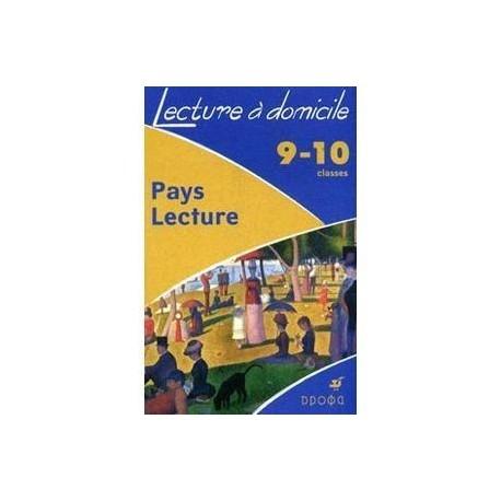 Pays Lecture. 9-10 классы. Домашнее чтение