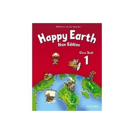 Happy Earth 1 Class Compact Disk Book