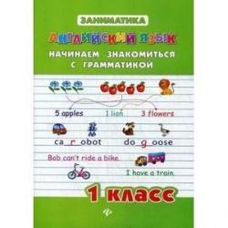 Английский язык. Начинаем знакомство с грамматикой. 1 класс.