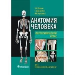 Анатомия человека. Фотографический атлас. В 3 т. Т. 1: Опорно-двигательный аппарат : учебное пособие.