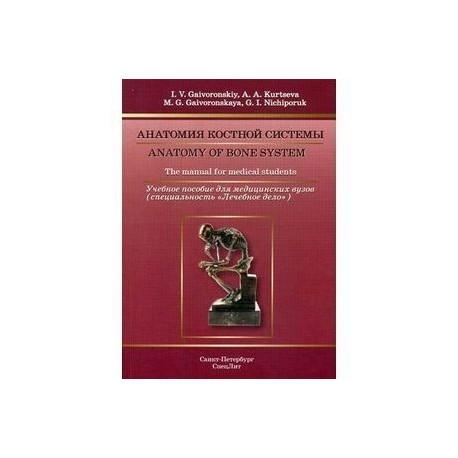 Анатомия костной системы: учебное пособие.