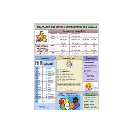 Английский язык. 1-2 классы. Шпаргалка для детей и их родителей