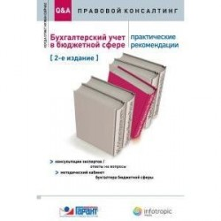 Бухгалтерский учет в бюджетной сфере: практические рекомендации : консультации экспертов. Ответы на вопросы.