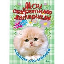 Альбом для девочек с наклейками 'Мои секретные материалы' Пушистое счастье.