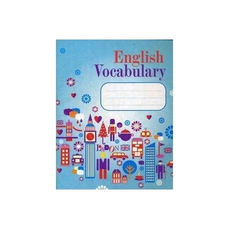 English vocabulary словарь для записей