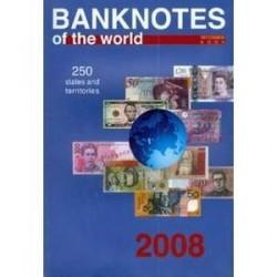 Банкноты стран мира: денежное обращение, 2008 г. Каталог справочник