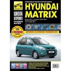 Hyundai Matrix. Выпуск с 2001 г., рестайлинг в 2005 и 2008 г. Руководство по эксплуатации, техническому обслуживанию и ремонту