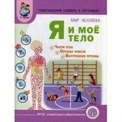 Мир человека. Я и мое тело + методические рекомендации к тематическому словарю в картинках. ФГОС