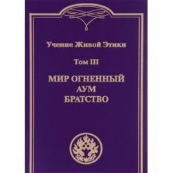 Учение Живой Этики. В 4 томах. Том 3. Мир огненный. Аум. Братство