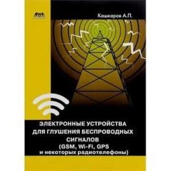 Электронные устройства для глушения беспроводных сигналов (GSM, Wi-Fi, GPS и некоторых радиотелефонов