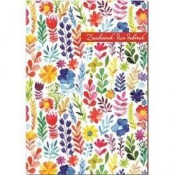 Дневничок для девочек 'Акварельные цветы'