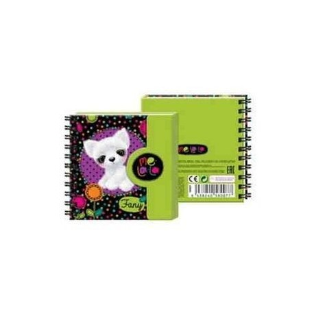 Подарочный дневничок - тетрадь 'Собачка Fany' (58007)