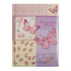 Ежедневник девочки 'Бабочки' (64 листа, А6) (36897-20)