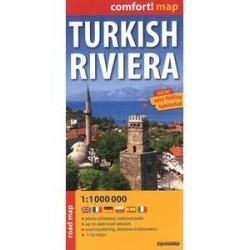Турецкая ривьера. Карта