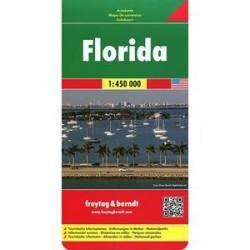 Флорида. Карта. Florida 1:450 000