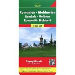 Romania. Moldova. Rumanien-Moldau 1: 500000