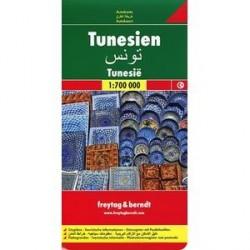 Тунис. карта. Tunis. Tunesien 1:700 000