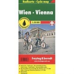 Вена на велосипеде / Vienna: Сycle Map