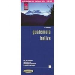 Гватемала. Белиз. Карта / Guatemala.Belize