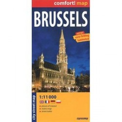 Брюссель / Brussels: City Street Map