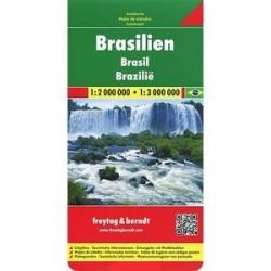 Бразилия. Карта. / Brasilien: Autokarte