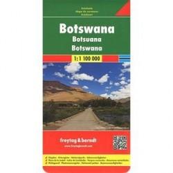Ботсвана. Карта/ Botswana