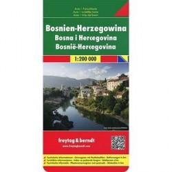 Босния - Герцоговина. Карта /Bosnia and Herzegovina