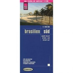 Бразилия южная. Карта / Brazil, South