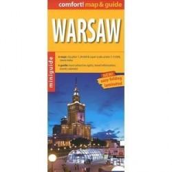 Варшава. Карта / Warsaw comfort! map & guide