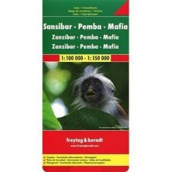 Занзибар-Пемба-архипелаг Мафия. Карта / Zansibar: Pemba: Mafia: Auto + Freizeitkarte