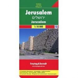 Иерусалим. Карта. Jerusalem