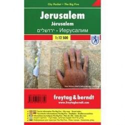 Иерусалим. Карта-покет+ Большая пятерка