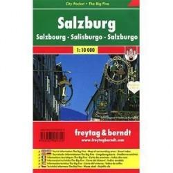 Зальцбург. Карта-покет +Большая пятерка / Salzburg: Pocket Map