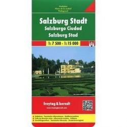 Зальцбург и окрестности. Карта / Salzburg City: City Map