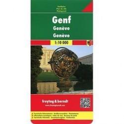 Женева. Карта /Geneva. Genf