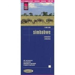 Зимбабве. Карта/ Zimbabwe