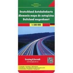 Германия. Карта автомагистралей / Germany Motorway Map