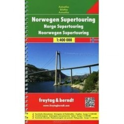 Германия. Атлас автодорог / Germany: Supertouring Road Atlas