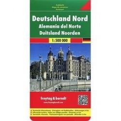 Германия северная. Карта / Germany North