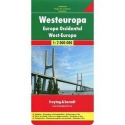Европа Западная. Карта / Europe West