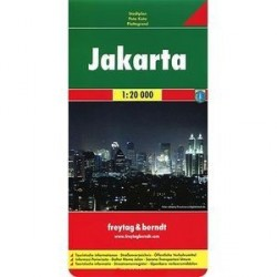 Джакарта. Карта / Jakarta
