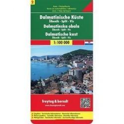 Далмация. Побережье / Dalmatian Coast: Road Map