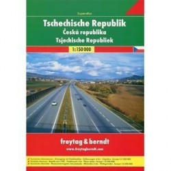 Чехия. Атлас автодорог (на спирали). Tschechische Republick. Superatlas 1:150 000
