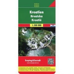 Хорватия. Карта. Croatia. Kroatien 1: 500000