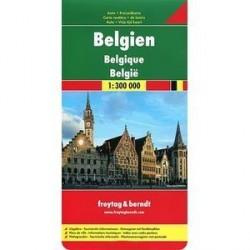 Бельгия. Карта / Belgium. Belgien