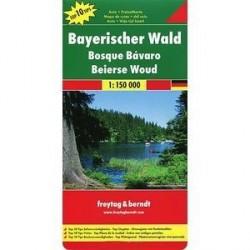 Баварский лес. Карта / Bavarian Forest