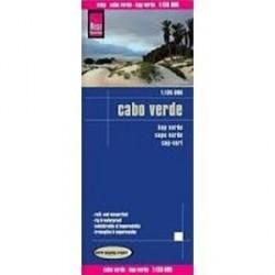 Острова Зеленого мыса. Карта. Cabo Verde 1:135.000