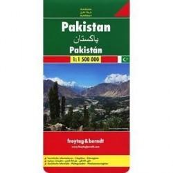 Пакистан. Карта. Pakistan 1:1 500 000