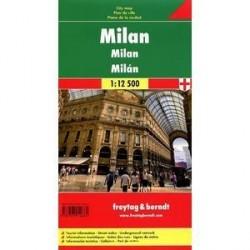 Милан. Карта. Milan. Mailland